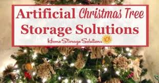 artificial tree storage solutions for your home
