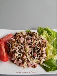 cuisiner le radis noir cuit cuisine et cagne de salade de lentilles au radis noir