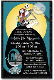 nightmare before christmas baby shower decorations decoration nightmare before christmas baby shower invitations