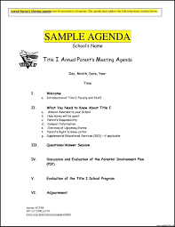 Excel Meeting Agenda Template by Free Meeting Agenda Templates Template Update234 Com Template