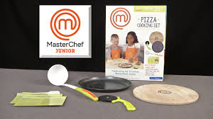 masterchef junior pizza cooking set from wicked cool toys youtube