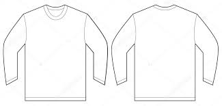 t shirt design template white sleeve t shirt design template stock vector airdone