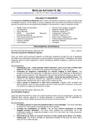 marlon anthony ng u0027s resume