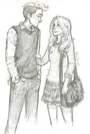 25 unique sketches of couples ideas on pinterest love drawings