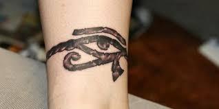 cool grey ink horus eye small