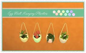 plants series vol 3 egg wall hanging planters new mesh updated