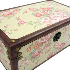 pretty storage boxes vintage unique shabby chic