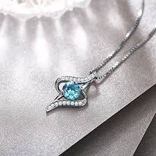 silver fine necklace images Necklace christmas gift with exquisite package 925 sterling jpg