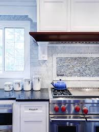 Light Blue Kitchen Backsplash by Awesome 20 Diy Kitchen Backsplash Above Stove Project The