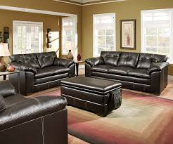 Simmons Living Room Furniture Simmons Upholstery 6769 03 Premier Chocolate Bonded