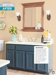 Painted Bathroom Cabinets by Paint Bathroom Vanity Craft Ideas Pinterest Paint Bathroom