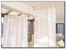 Diy Room Divider Curtain Room Dividers Curtains Track Portable Divider Curtain Ideas Best