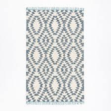 Kilim Area Rug West Elm Palmette Chenille Wool Kilim Area Rug In Aptdeco