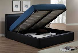 Ottoman Bed Black Dress Womens Clothing Storage Ottoman Bed