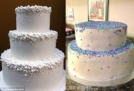 wedding cake fails not what they ordered disappointed brides photos of the