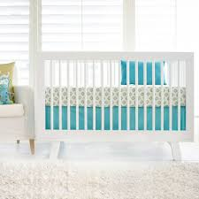 aqua and gold baby bedding tribal crib bedding aqua baby bedding