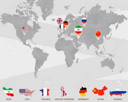 map russia to usa world map with iran usa uk germany china russia