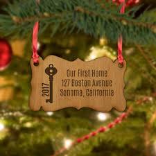 personalized tree ornaments monogram