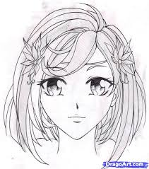 how to draw an anime step by step anime characters anime