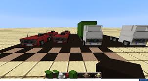minecraft truck vanilla cars minecraft