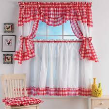 Old Curtains Welcome Back The Old Style With Retro Kitchen Curtains Home