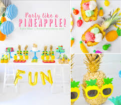 birthday party supplies kara s party ideas party like a pineapple and 20 birthday