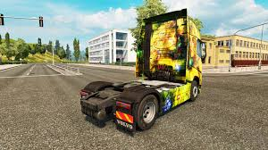 volvo trucks jobs skin for volvo truck for euro truck simulator 2