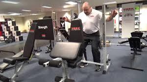 York Multi Function Bench York Fitness 540 Bench Youtube