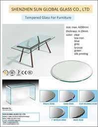 frosted tempered glass table top fab glass and mirror round beveled tempered glass table top glass