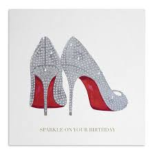 shoes birthday card by anzu notonthehighstreet - Birthday Cards With Shoes