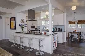 eichler open plan kitchen gets a mid century modern update