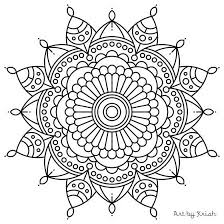 mandala coloring pages for adults simple coloring mandala coloring