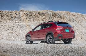 subaru crosstrek white 2016 2018 subaru crosstrek first drive review automobile magazine