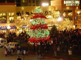 bright holiday lights sparkle in salt lake city