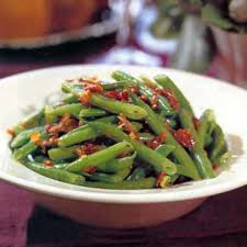 green beans with bacon and shallots recipe epicurious