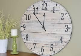 best large rustic wall clock u2014 home design ideas large rustic