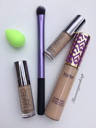tarte light medium neutral concealer showdown tarte shape tape vs urban decay concealer