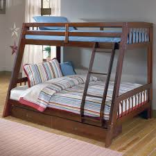 Twin Over Full Wood Bunk Bed Lowell Twin Over Full Bunk Bed The - Simmons bunk bed mattress