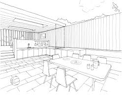 sketch drawings for kitchen designs elegant home design