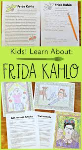kids learn about frida kahlo mexican artist extraordinaire