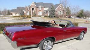 1967 pontiac gto convertible classic muscle car for sale in mi