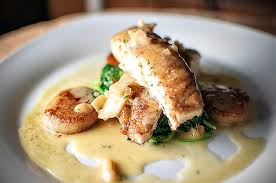 lemon beurre blanc recipe feeding andy halibut w spinach scallop citrus beurre blanc