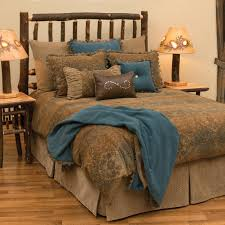 longhorn with barbwire western bedding cabin place delaura western duvet cover collection