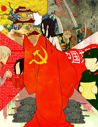 Russian Flag With Hammer And Sickle China Axis Powers Hetalia Image 301182 Zerochan Anime