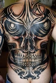 today s tribal skull designs