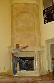 Travertine Fireplace Tile by Granite Travertine Or Marble Fireplace Hearths Mantles And