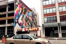 Columbia College Chicago Map by Big Walls Rise In The Wabash Arts Corridor 2016 Columbia