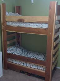 Plans For Making Loft Beds by Free Bunk Bed Plans For Kids 2199
