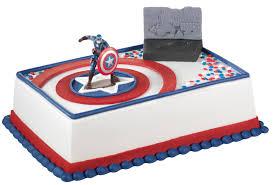 captain america cake topper captain america cake ideas sheet cake 107273 baskin robbin