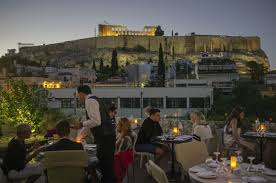 herodion hotel athens greece midnight candle light dinner with